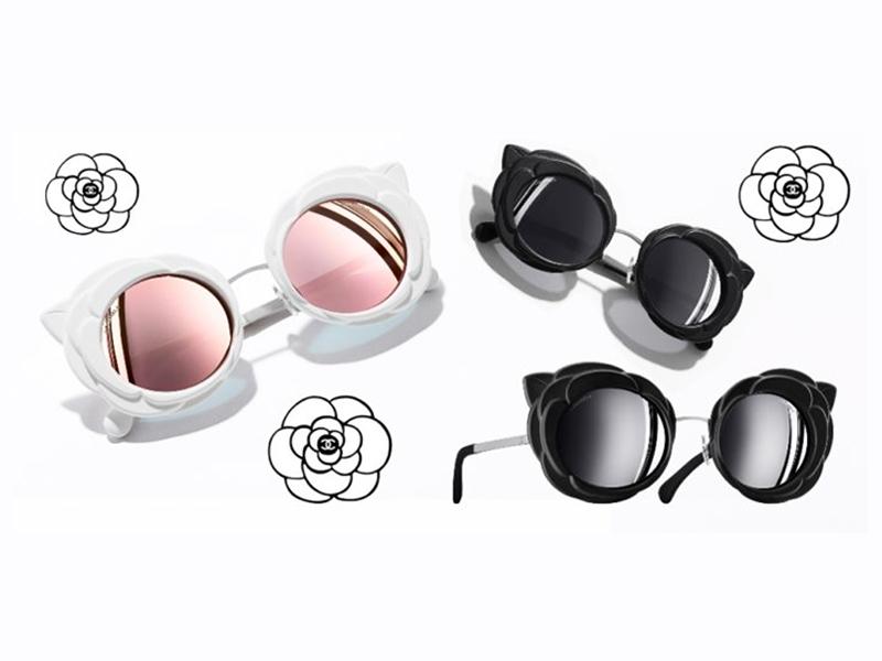 Les nouvelles lunettes Camélias de Chanel - FocusOptique 7182709bcb94