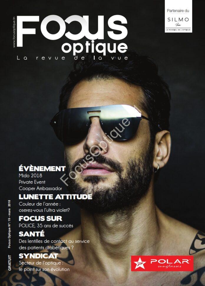 Couverture Magazine FocusOptique N19