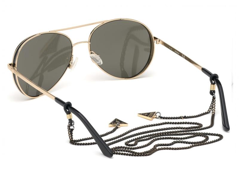 Guess_eyewear_aviator_sunglasses_GUESS_GU7607_black_gold