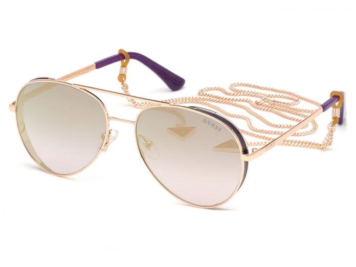 Guess_eyewear_aviator_sunglasses_GUESS_GU7607_purple_rosegold
